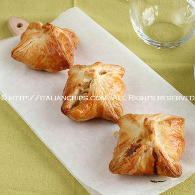 Puff pastry chicken recipe