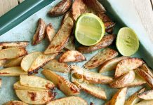 patate arrosto con lime