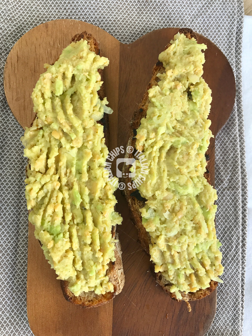 ceci e avocado