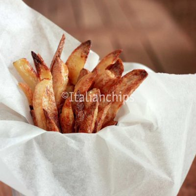 Irresistible baked french fries