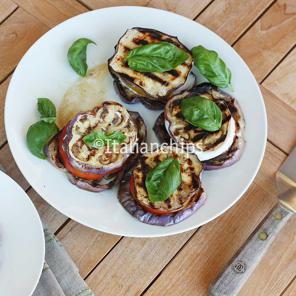 A light, fresh & veggie recipe of eggplant