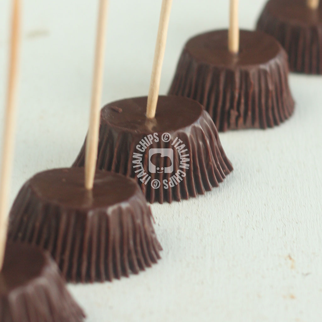 chocolate witch brooms