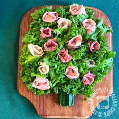 Bunch of cold cuts roses