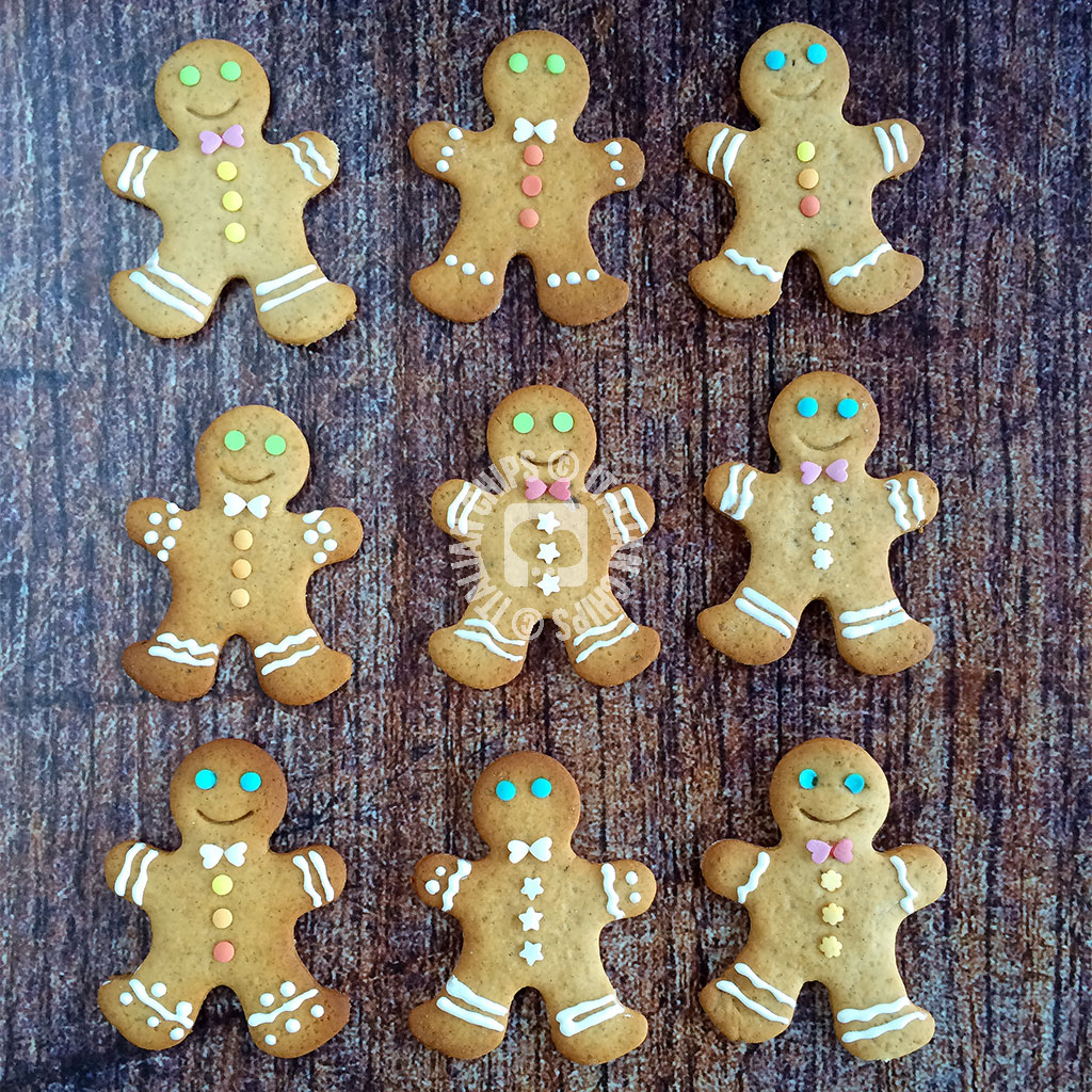 Lovely gingerbread cookies